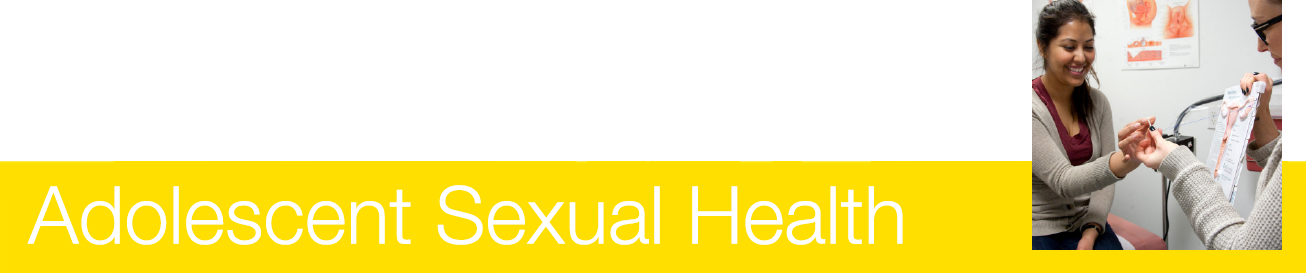 Read about our adolescent and sexual health