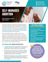 Self-managed abortion: What healthcare workers need to know