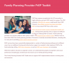PrEP for family planning providers